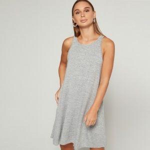 GAP Gray Sleeveless Swing Dress Size XS
